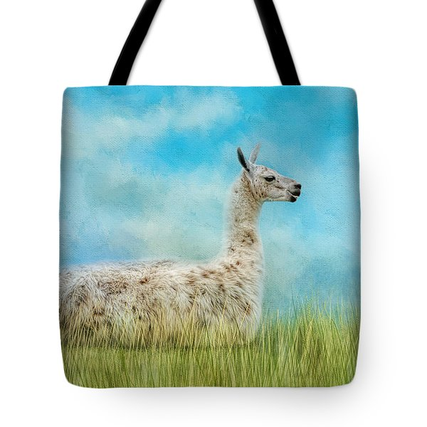 Just Chillin Tote Bag by Jai Johnson