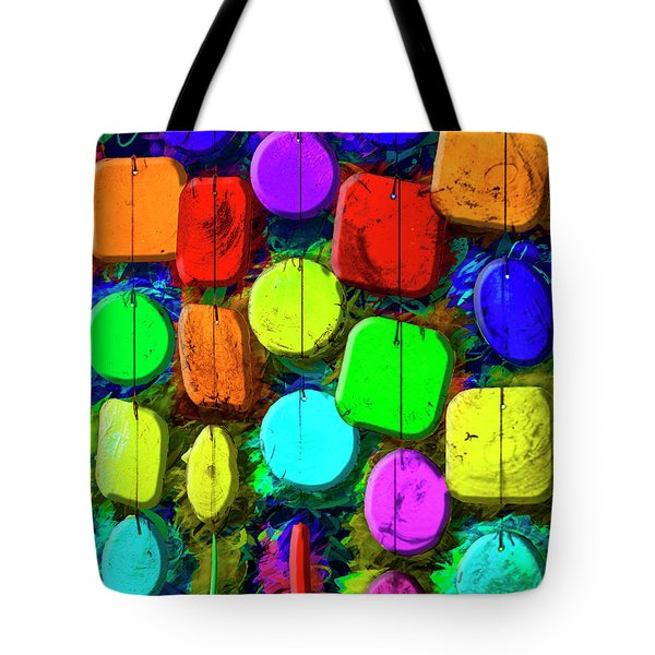Tote Bag featuring the photograph Just Color by Paul Wear