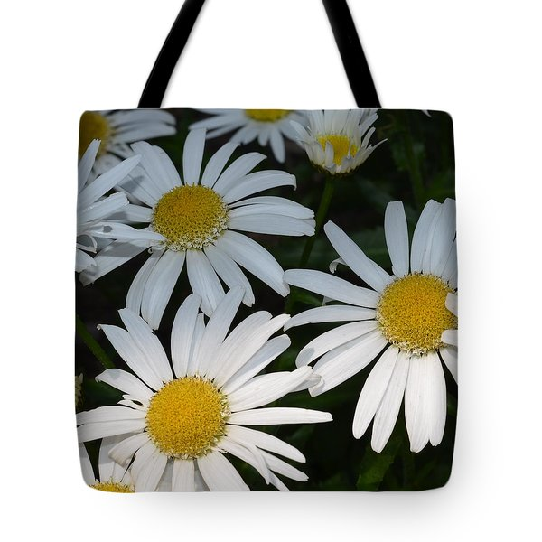 Just Daises Tote Bag