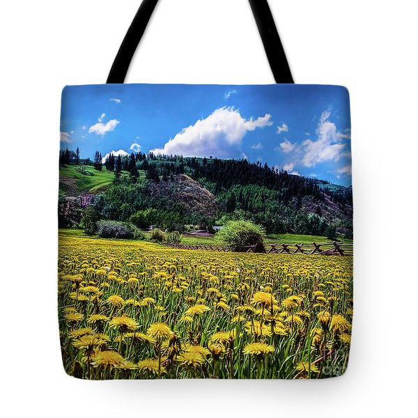 Just Dandy Tote Bag by Jon Burch Photography