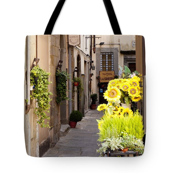 Just Down The Road Tote Bag by Rae Tucker