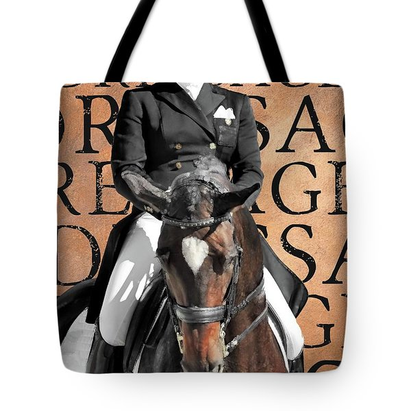 Just Dressage Tote Bag