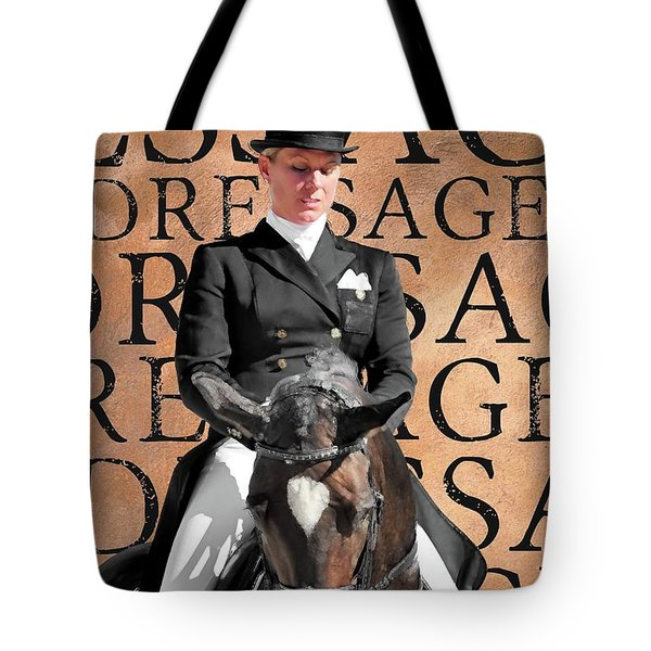 Just Dressage Tote Bag