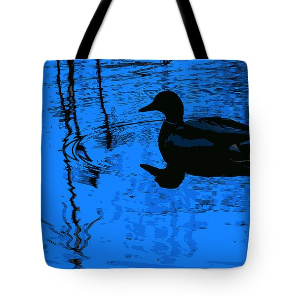Just Floating Along Tote Bag