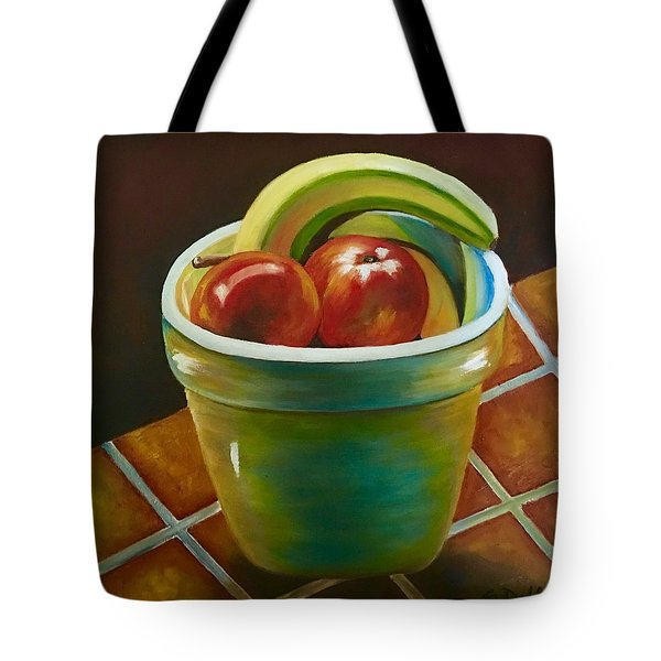 Just Fruit Reflections Tote Bag