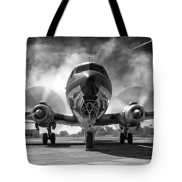 Just Getting Warmed Up Tote Bag