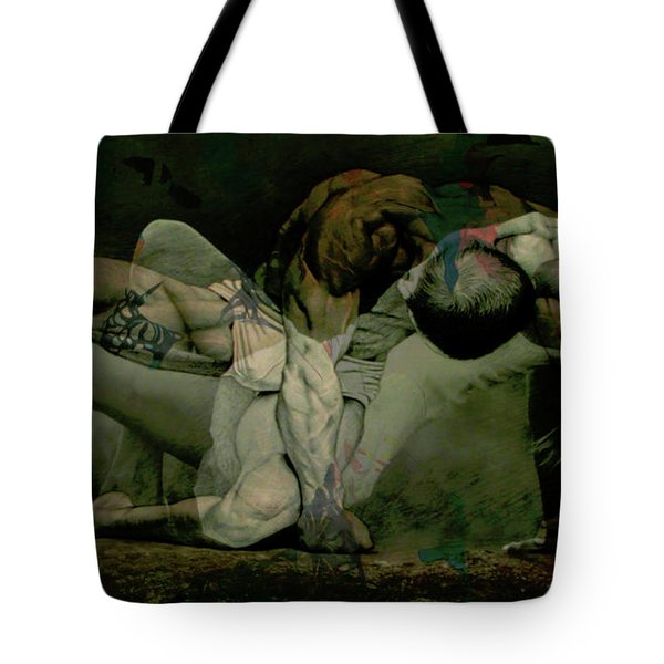 Tote Bag featuring the digital art Just Give Me A Reason by Paul Lovering