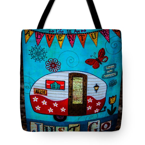 Just Go  Tote Bag by Debra Forand