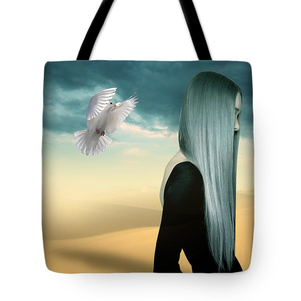 Just Go  Tote Bag by Mark Ashkenazi