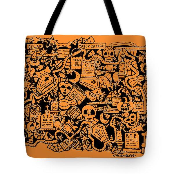 Just Halloweeny Things V7 Tote Bag