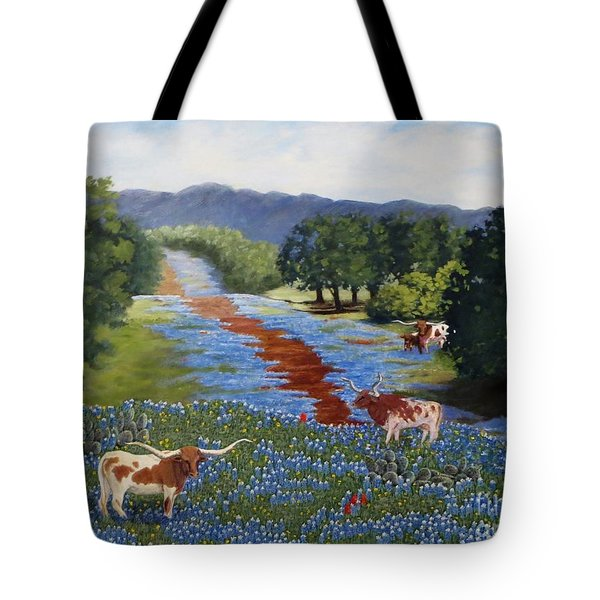 Just Hangin' Out Tote Bag by Beverly Theriault