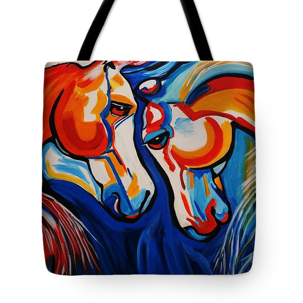 Just Horsing Around Tote Bag