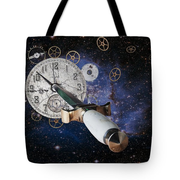 Just Killing Time Tote Bag