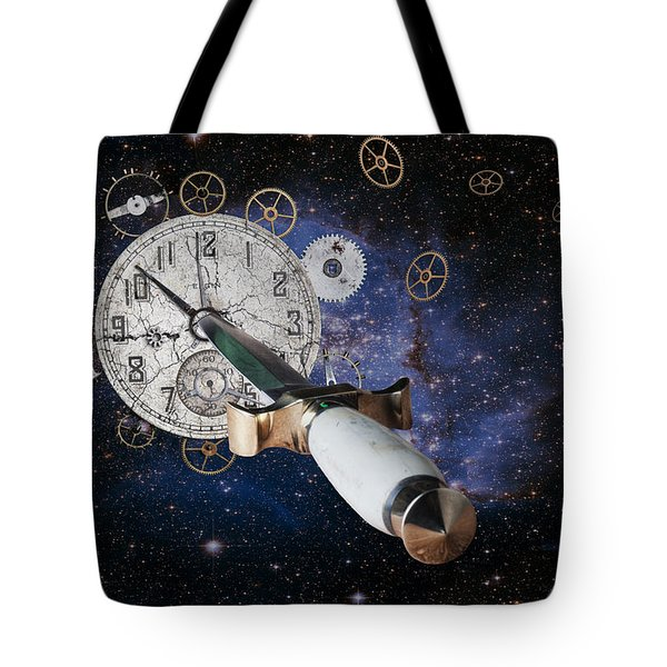 Just Killing Time Tote Bag