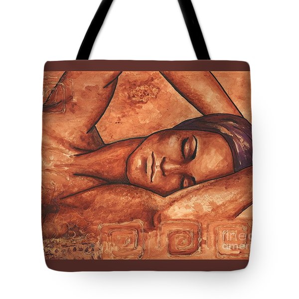 Just Lay Back And Relax And . . .  Tote Bag