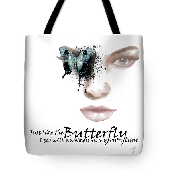 Just Like The Butterfly Tote Bag