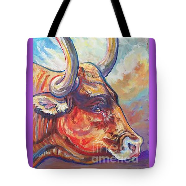 Tote Bag featuring the painting Just Looking by Jenn Cunningham