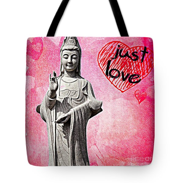 Just Love Tote Bag