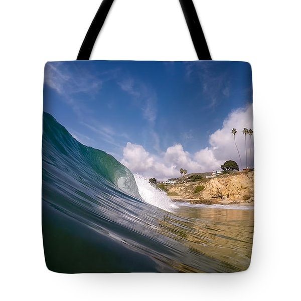 Just Me And The Waves Tote Bag by Sean Foster