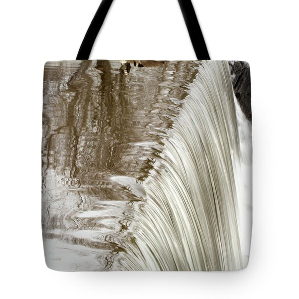 Just On The Edge Tote Bag by Karol Livote