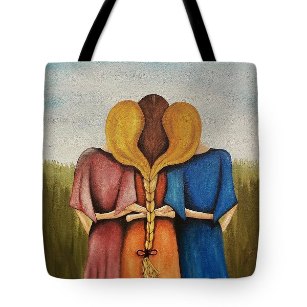Just One Braid Tote Bag