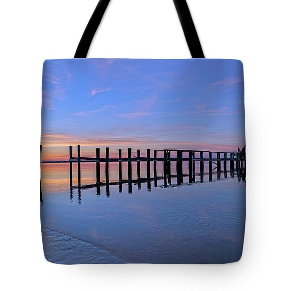 Just One Egret  Tote Bag