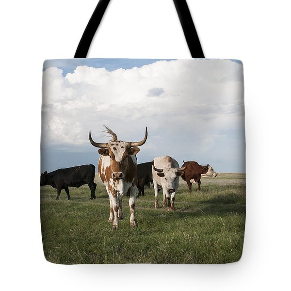 Just One Of The Girls Tote Bag by Karen Slagle