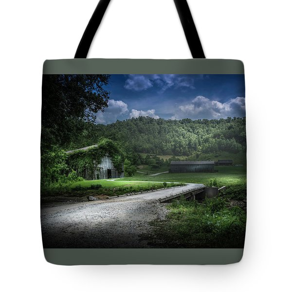 Just Over The Bridge Tote Bag