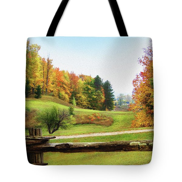 Just Over The Next Ridge Tote Bag