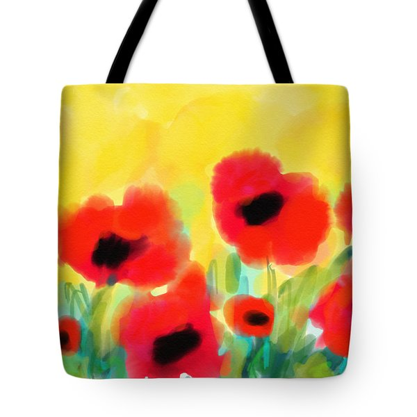 Just Poppies Tote Bag