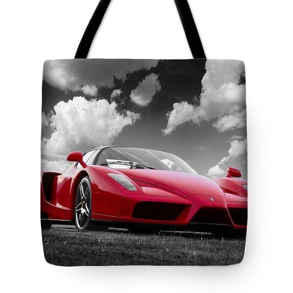 Just Red 1 2002 Enzo Ferrari Tote Bag