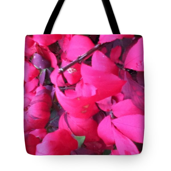 Just Red/pink Tote Bag