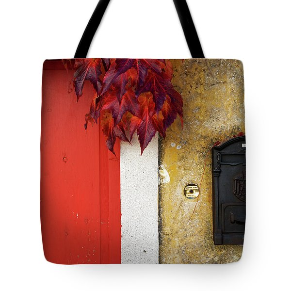 Just Red Tote Bag by Yuri Santin
