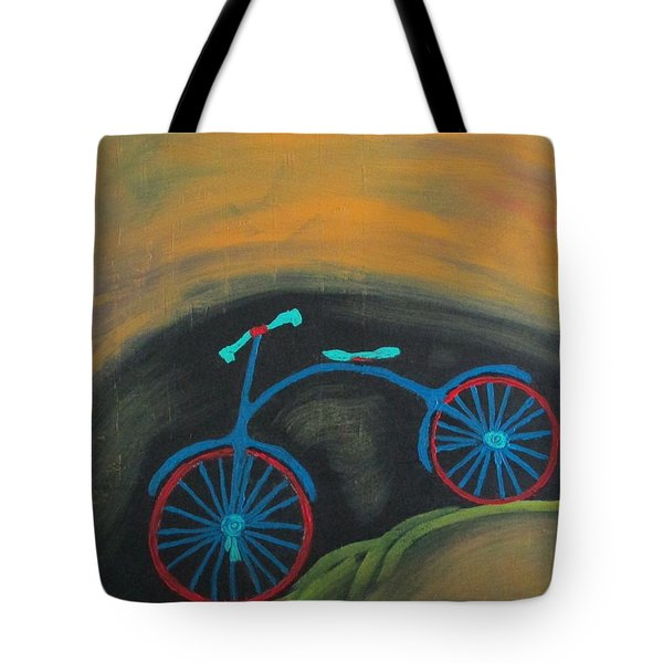 Tote Bag featuring the painting Just Roamin by Sharyn Winters