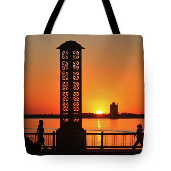 Just Sit And Enjoy Tote Bag by John Glass