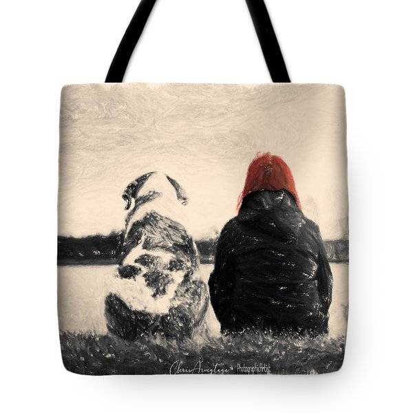 Just Sitting In The Morning Sun Tote Bag
