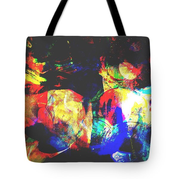 Just Talking Tote Bag by Fania Simon