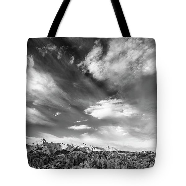Just The Clouds Tote Bag