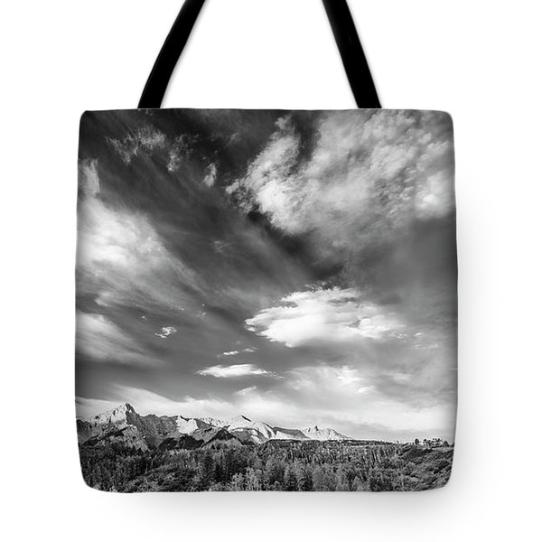Just The Clouds Tote Bag by Jon Glaser