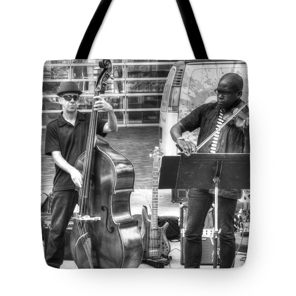 Tote Bag featuring the photograph Just The Strings by Michael Colgate