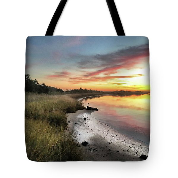 Just The Two Of Us At Sunset Tote Bag