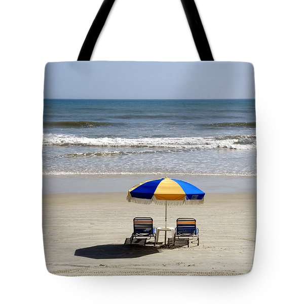 Just The Two Of Us Tote Bag by David Lee Thompson