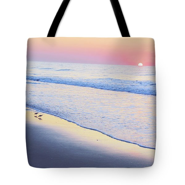Just The Two Of Us - Jersey Shore Series Tote Bag
