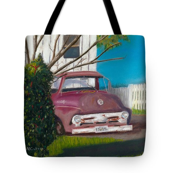 Just Up The Road Tote Bag