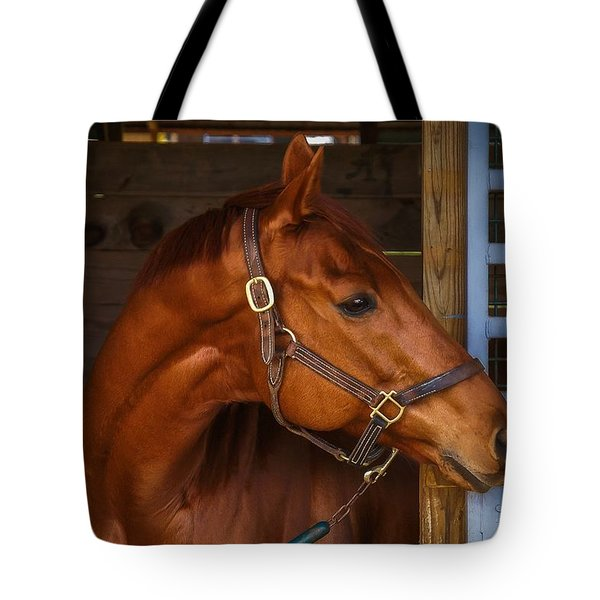 Just Waiting For My Turn To Race Tote Bag by Robert L Jackson