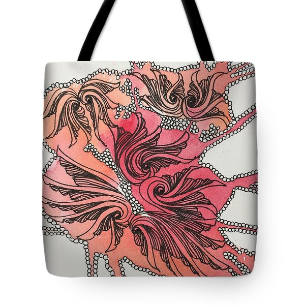 Just Wing It Tote Bag by Jan Steinle