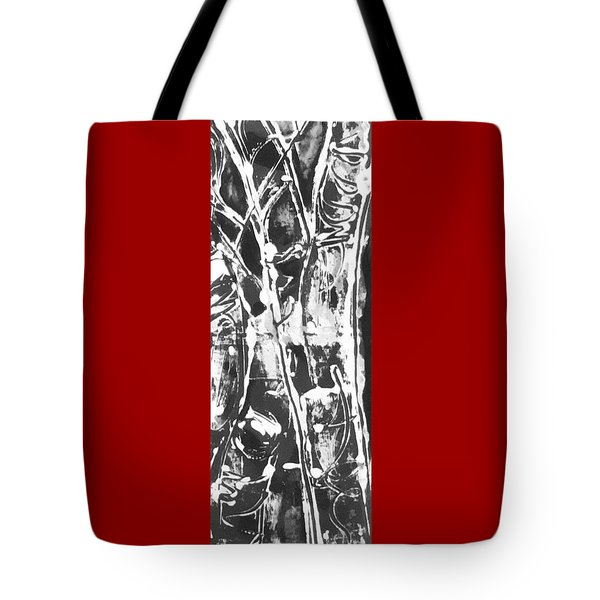 Tote Bag featuring the painting Justice by Carol Rashawnna Williams