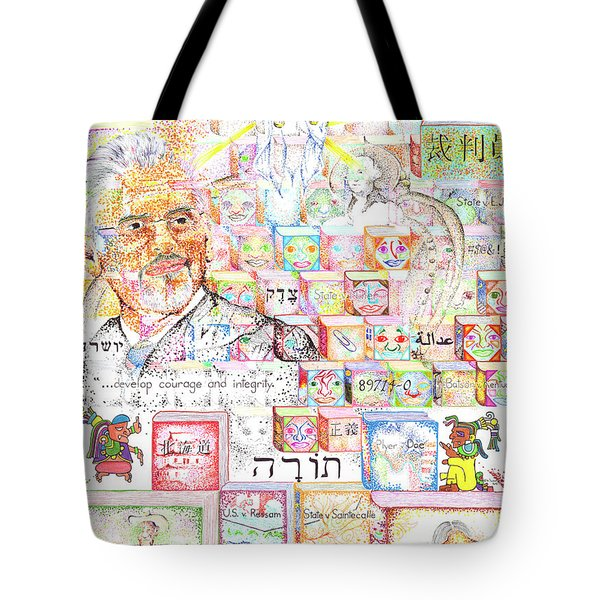 Justice For All Steven C. Gonzalez Tote Bag