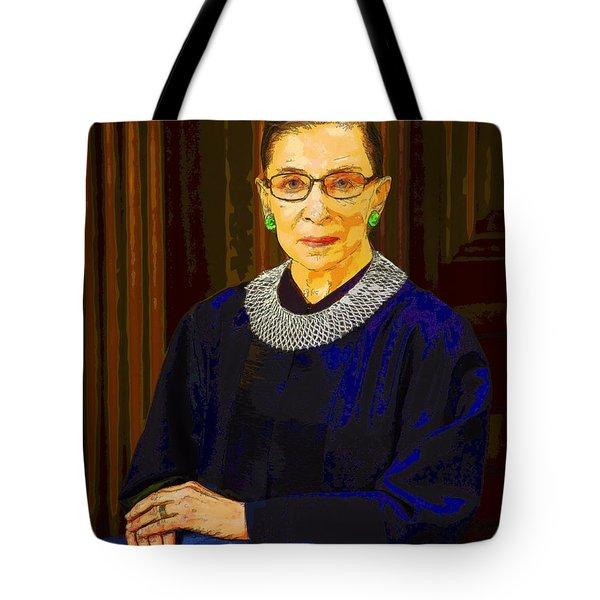 Justice Ginsburg Tote Bag