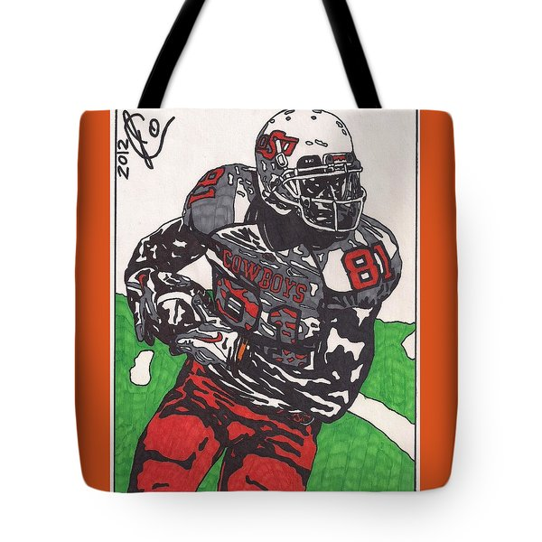 Justin Blackmon 2 Tote Bag by Jeremiah Colley